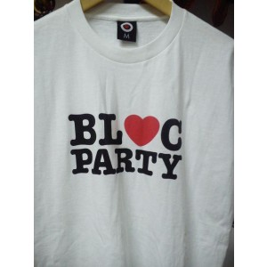 BLOC PARTY Logo T-SHIRT
