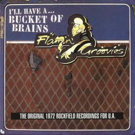 """FLAMIN' GROOVIES -  I'll Have A... Bucket Of Brains (The Original 1972 Rockfield Recordings For U.A.) 10"""""""