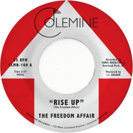FREEDOM AFFAIR - Rise Up 7""
