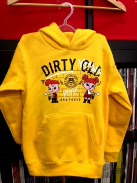 Dirty Young and Proud KIDS [yellow] HOODIE