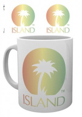 ISLAND RECORDS Logo ŠALICA