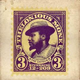MONK, THELONIOUS - The Unique Thelonious Monk LP