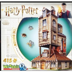 HARRY POTTER 3D The Burrow (Weasley Family Home) PUZZLE