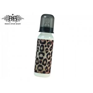 ROCK STAR BABY Plastična bočica 250ml - Leopard