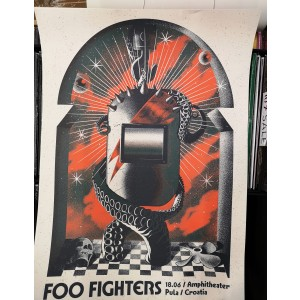 FOO FIGHTERS Pula 18.06.2019. POSTER