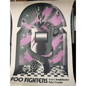 FOO FIGHTERS Pula 19.06.2019. POSTER