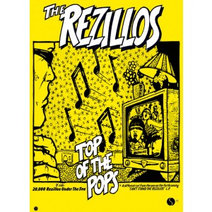 REZILLOS Top Of The Pops POSTER