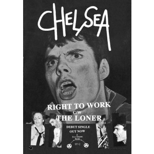 CHELSEA Right To Work POSTER