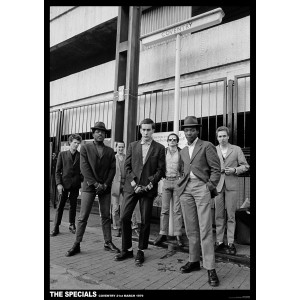 SPECIALS Coventry 1979 POSTER