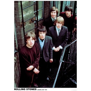 ROLLING STONES London 1965 Stairs POSTER