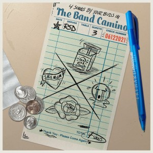 BAND CAMINO - 4 Songs By Your Buds In The Band Camino LP