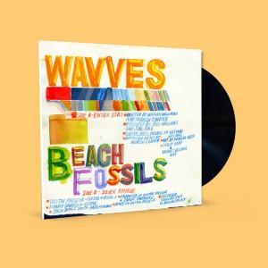 "WAVVES x BEACH FOSSILS - Split 7"""
