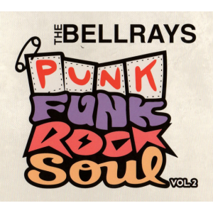 BELLRAYS - Punk Funk Rock [color] LP
