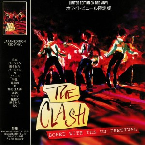 CLASH -  Bored With The Us Festival LP