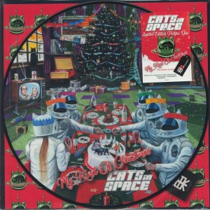 CATS IN SPACE - My Kind Of Christmas LP