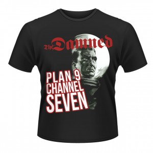 DAMNED Plan 9 Channel Seven T-SHIRT