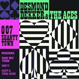 DEKKER, DESMOND & THE ACES - 007 Shanty Town LP