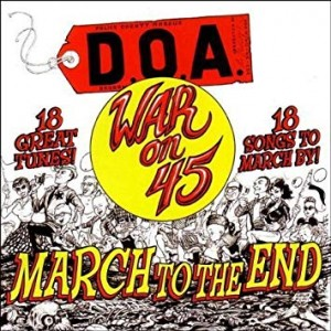 D.O.A. War on 45 PUZZLE