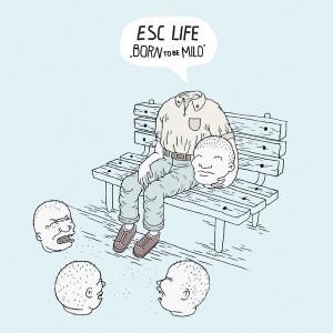 ESC LIFE - Born To Be Mild [color] LP