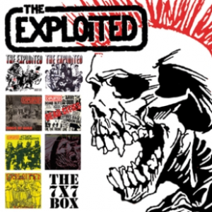 EXPLOITED - Singles BOX 7""