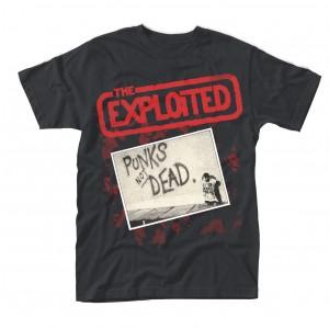 EXPLOITED Punks Not Dead T-SHIRT
