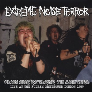 EXTREME NOISE TERROR - From One Extreme To Another (Live At The Fulham Greyhound London 1989) LP