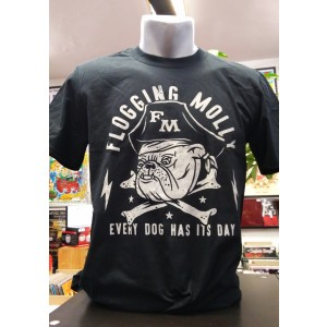 FLOGGING MOLLY Bulldog T-SHIRT