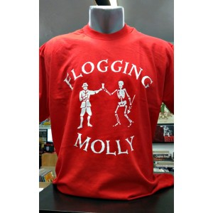 FLOGGING MOLLY Skeleton Spear T-SHIRT