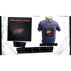 FRANZ KAFKA ENSEMBLE t-shirt + CD Bundle/Paket