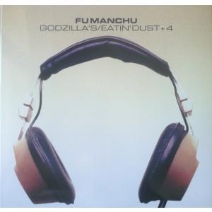 "FU MANCHU -  Godzilla's / Eatin' Dust +4 10"""