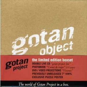 GOTAN PROJECT - Gotan Object BOX SET