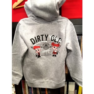Dirty Young and Proud [back print] KIDS HOODIE