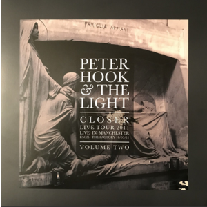 HOOK, PETER & THE LIGHT - Closer Live Tour 2011: Live in Manchester Volume 2 LP