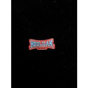 HOOLIGAN REGGAE METAL PIN