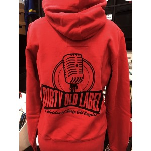 DIRTY OLD SHOP Label Logo HOODIE