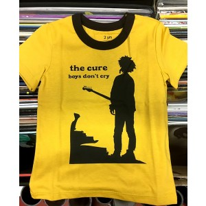 CURE Boys Don't Cry yellow T-SHIRT