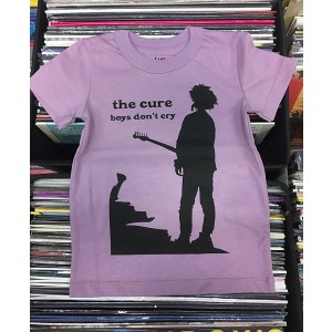 CURE Boys Don't Cry pink T-SHIRT