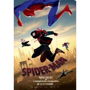 SPIDER-MAN - Novi Svijet POSTER