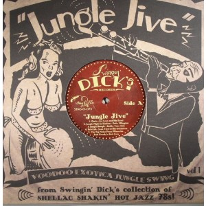 VARIOUS - Jungle Jive: Voodoo Exotica Jungle Swing Vol. 1 LP
