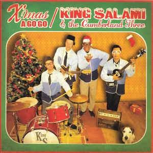 "KING SALAMI Xmas A Go Go 7"""