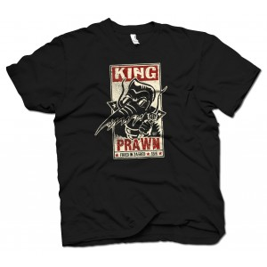 KING PRAWN Fried In Zagreb T-SHIRT