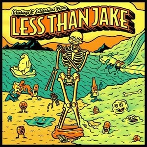 LESS THAN JAKE - Greetings and Salutations LP