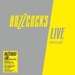 BUZZCOCKS - Live 1990 & 1992 2LP