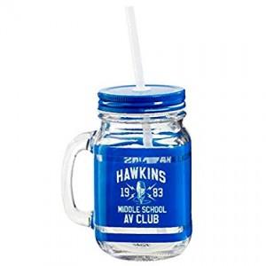 STRANGER THINGS Hawkins AV Club Maison Jar TEGLICA