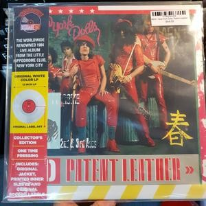 NEW YORK DOLLS - Red Patent Leather LP
