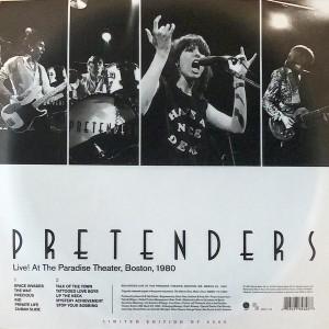 PRETENDERS - Live! At The Paradise Theater, Boston, 1980 LP