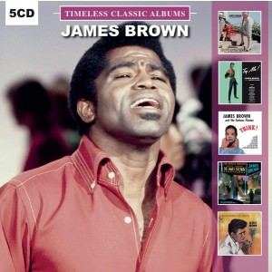 BROWN, JAMES - Timeless Classic Albums 5CD