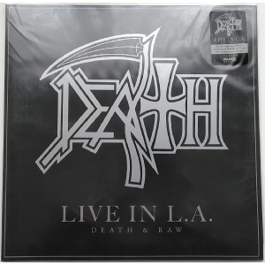 DEATH - Live In L.A. (Death & Raw) LP