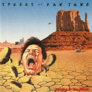 TYGERS OF PAN TANG - Burning in the Shade LP