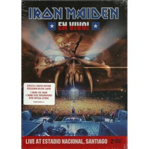 IRON MAIDEN - En Vivo! (Live At Estadio Nacional, Santiago) DVD